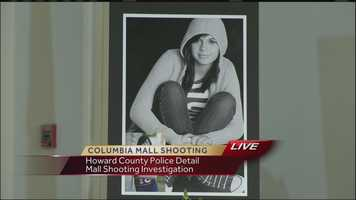 Howard County police on Wednesday released new details in the Columbia mall shooting, including a timeline of events and evidence of the shooter's state of mind during the deadly Jan. 25 incident in which he killed two people before turning the gun on himself.Read the full story here.