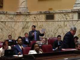 March 12: Budget debate in Senate