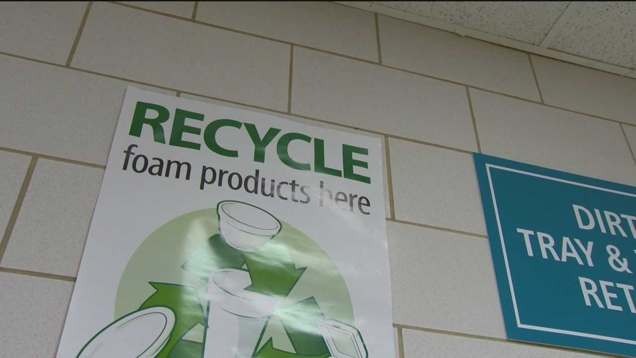 Hospital goes green, uses densifier to recycle Styrofoam