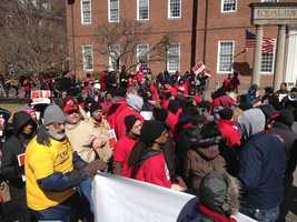 March 13: BWI workers rally in Annapolis