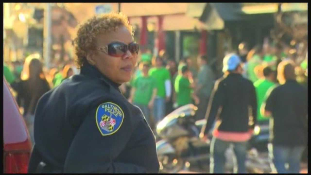 From the parade to the road race, Baltimore police are stepping up patrols for St. Patrick's events this weekend.