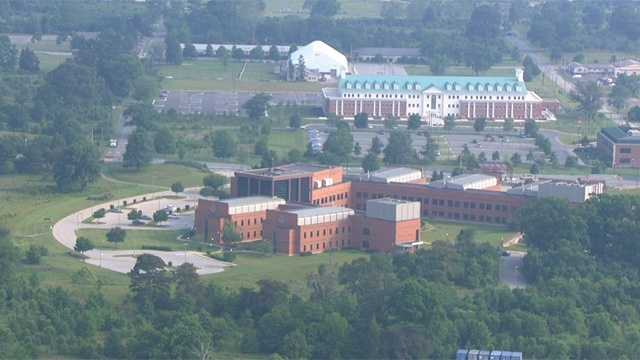 Fort George G. Meade employs about 56,780 people in Anne Arundel County.