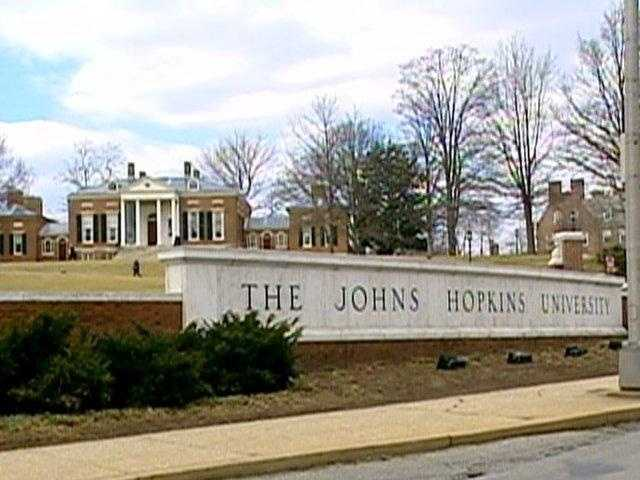 Johns Hopkins University employs about 27,000 people.