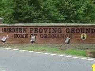 Aberdeen Proving Ground employs about 16,220 people in Harford County.