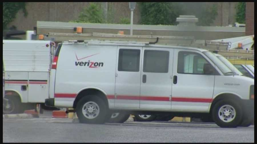 Verizon Maryland employs about 8,280 people in communications services.