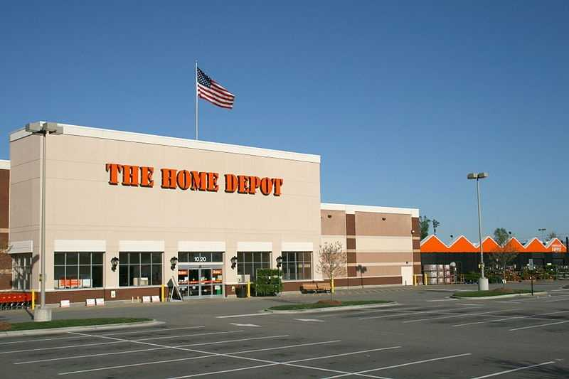 The Home Depot employs about 8,080 people in Maryland.