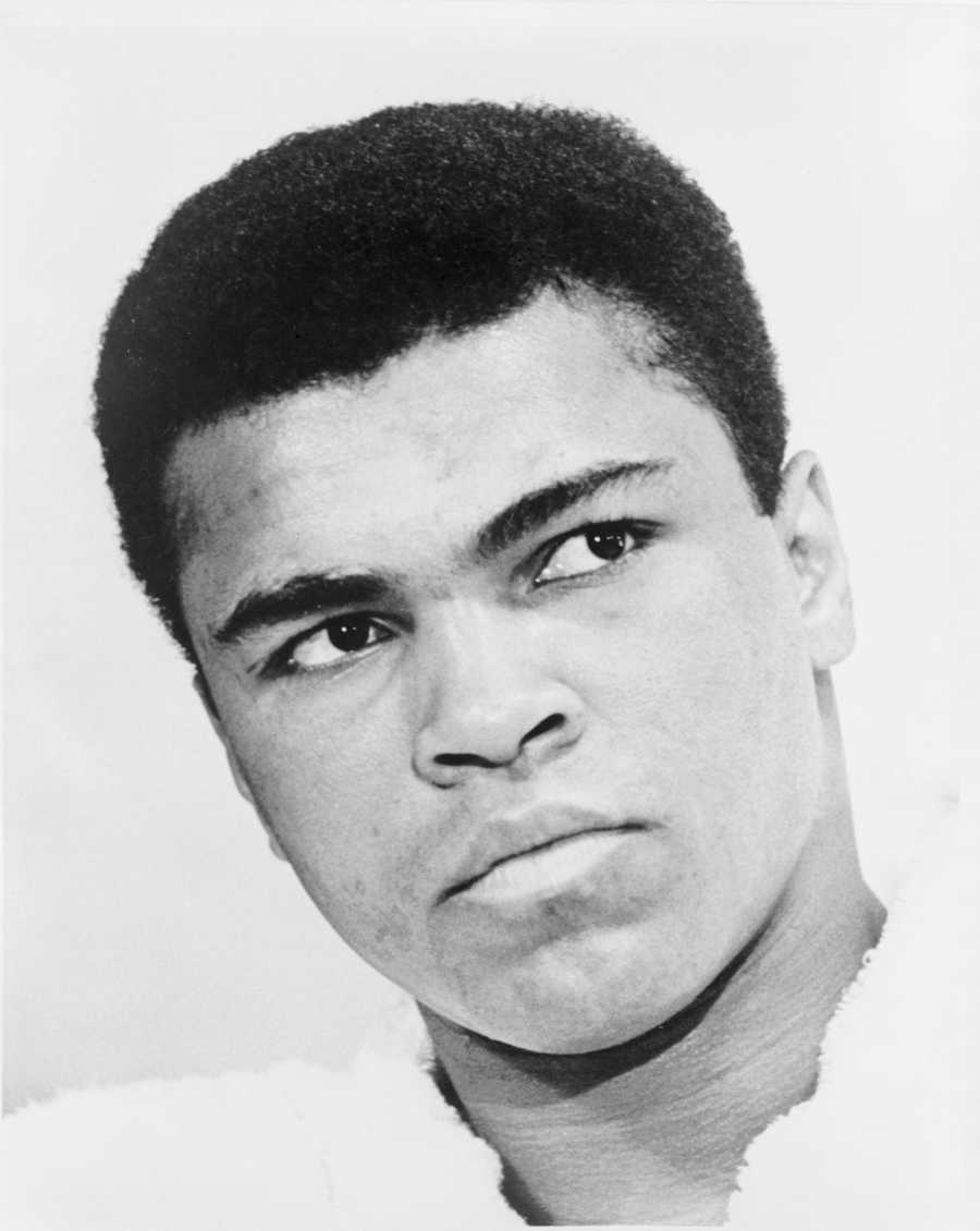 Jason, if you could interview anyone past or present, who would it be? Muhammad Ali
