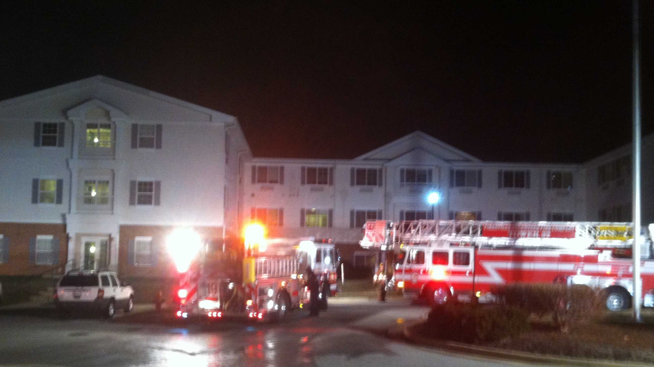 Pikesville assisted living fire2