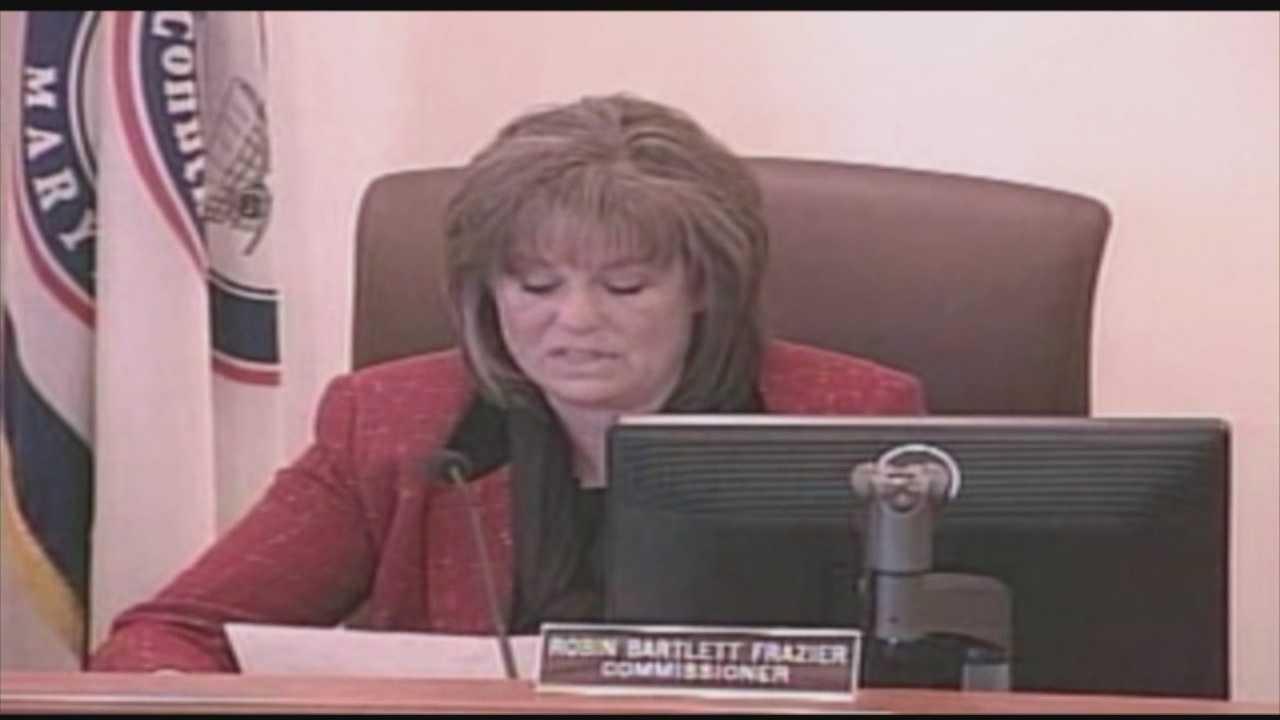 Carroll County Commissioner Robin Frazier