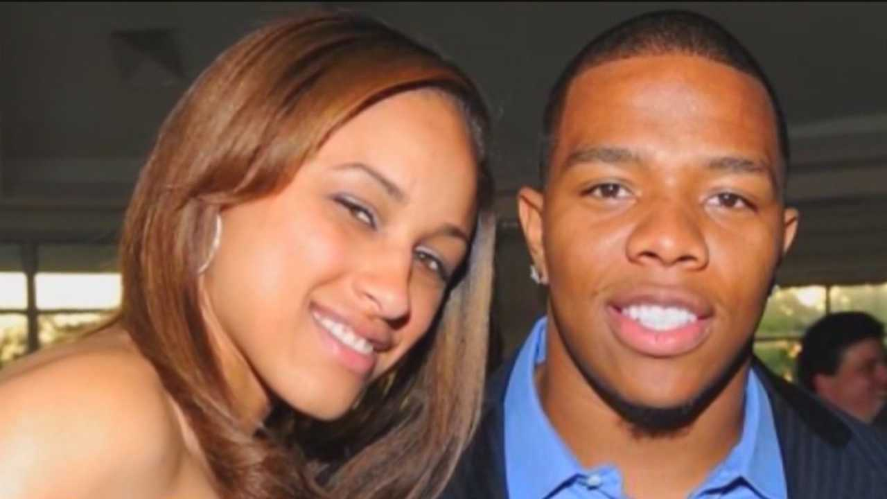 Ray Rice and Janay Palmer