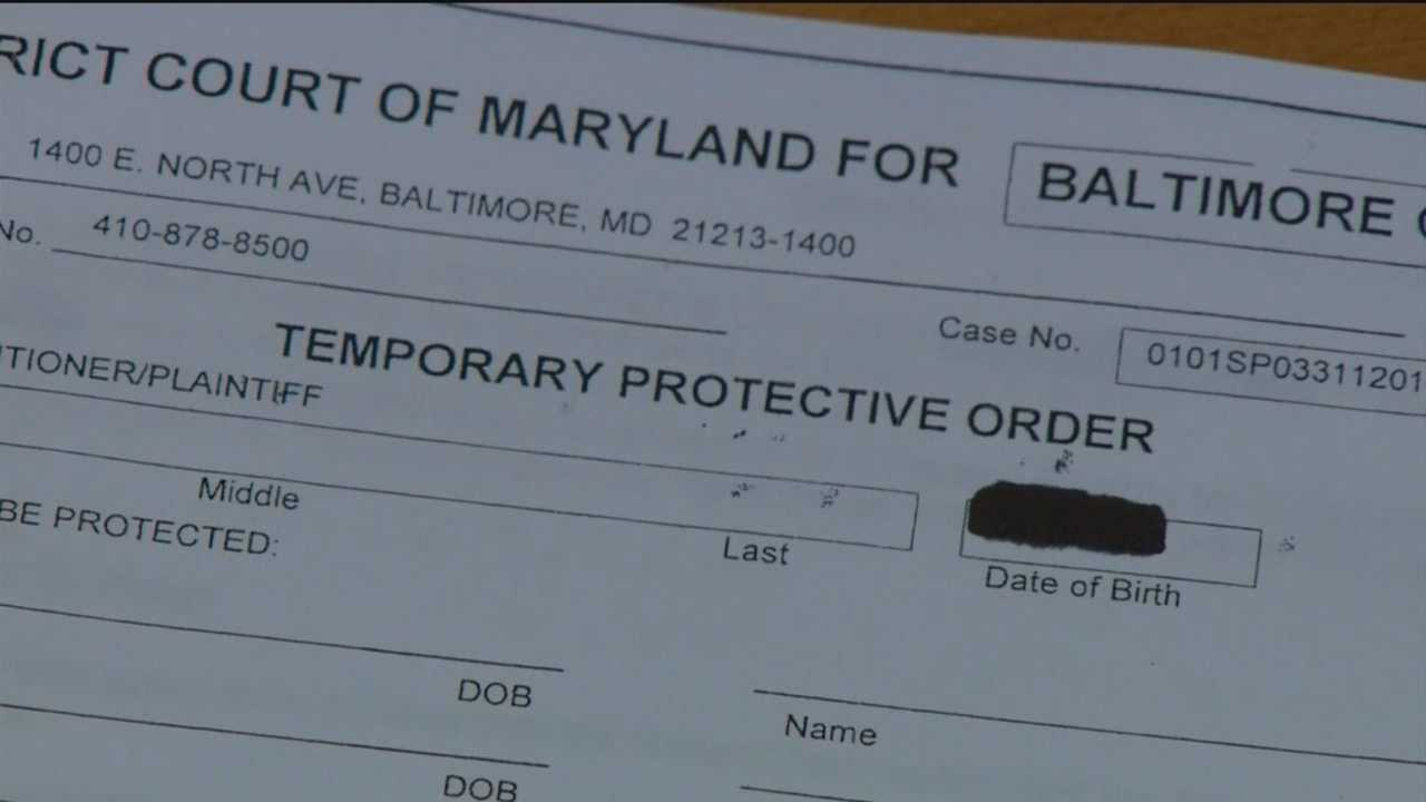 Why there has been such a delay in the Sheriff's Office taking over the duties to serve protective orders in Baltimore?