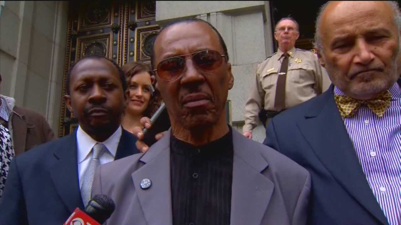 After spending 39 years in prison for a crime he did not commit, Walter Lomax, 67, has his name cleared.