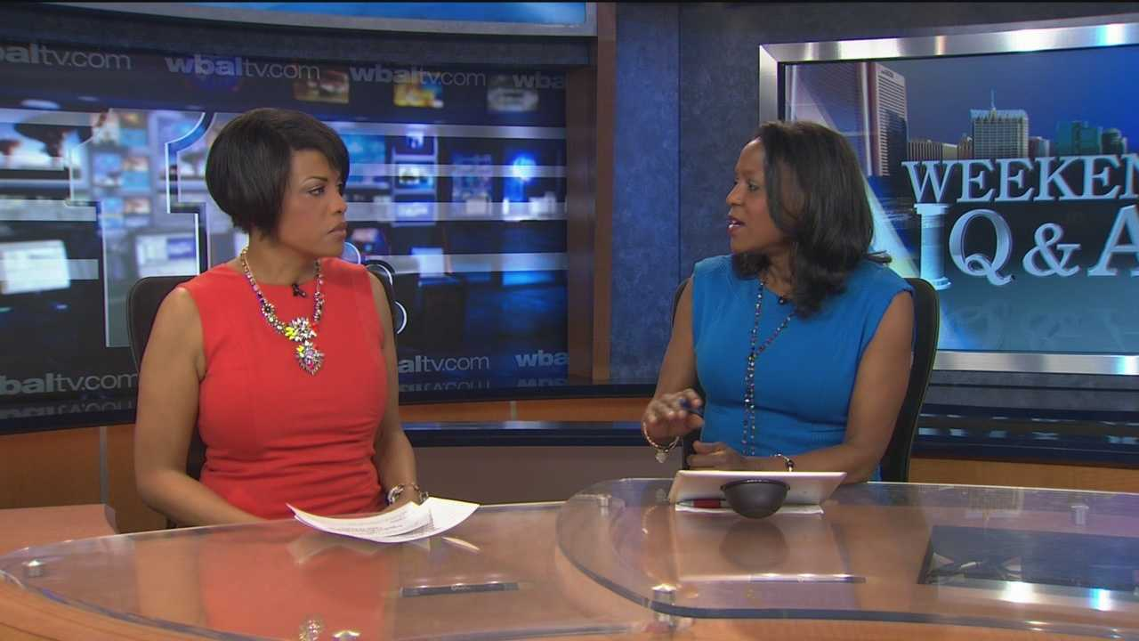Baltimore City Mayor Stephanie Rawlings-Blake is this week's Sunday Q & A Guest.