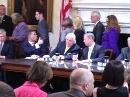 April 8: Gov. Martin O'Malley signs bills.