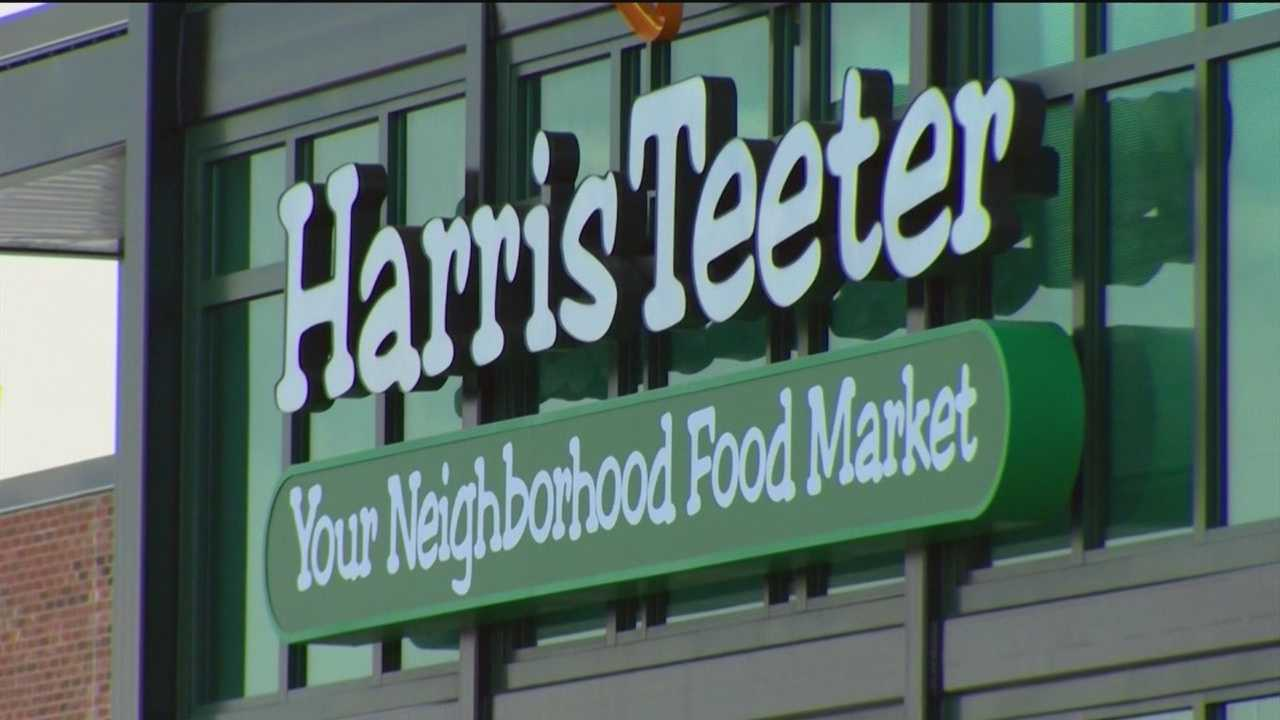 The final anchor store, Harris Teeter, opened Tuesday evening at Canton Crossing Shopping Center in southeast Baltimore.