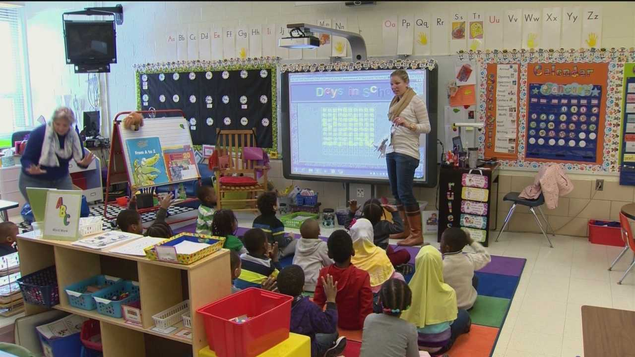 One of the education bills signed by the governor into law Tuesday would help school districts expand the state's pre-kindergarten program.