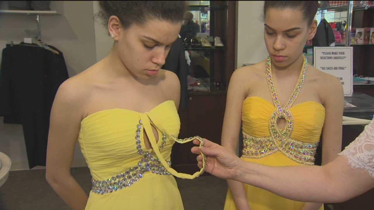 The Better Business Bureau is warning consumers that scammers are targeting the prom by trying to cash in on shoppers looking for deals on designer dresses. Kerry Cavanaugh has the details.