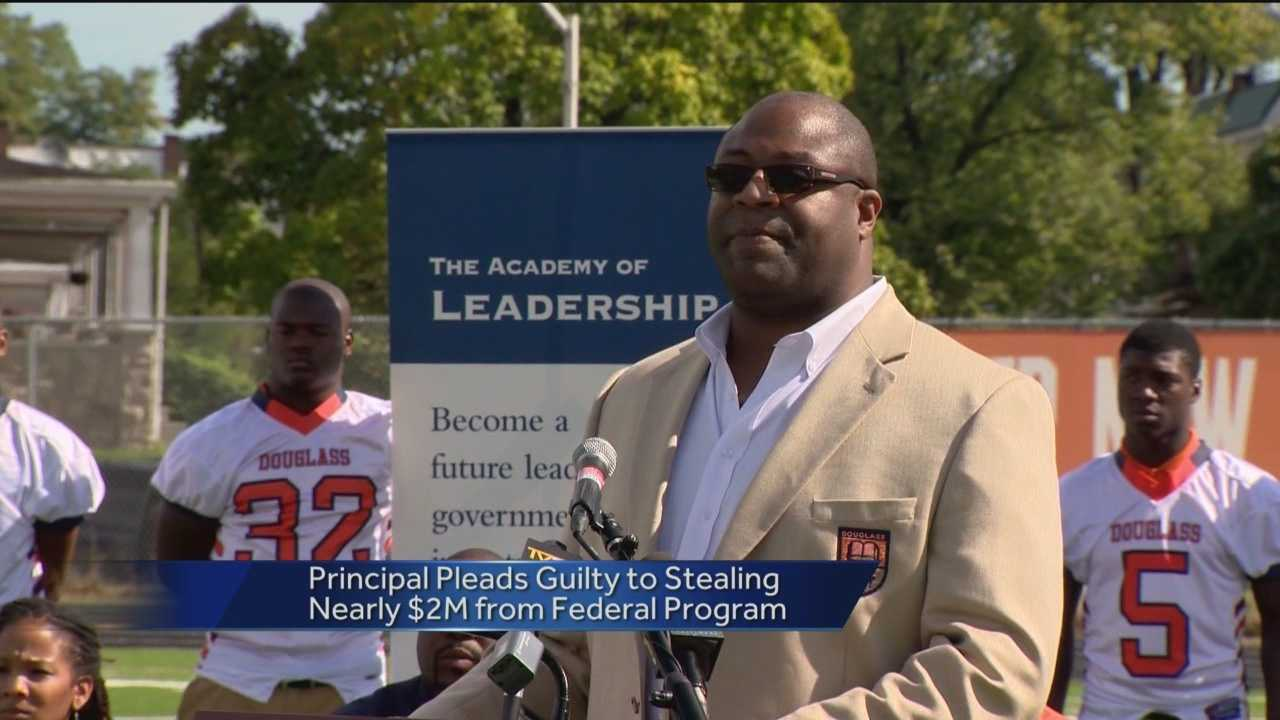 School principal pleads guilty to stealing $2M