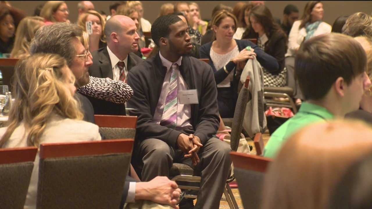It's all part of a statewide program called Teachers of Promise in which experienced educators share what they know with students about to hit the job market.