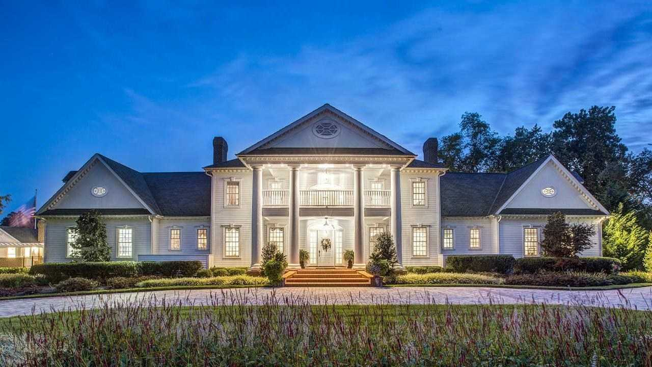 At $7.5 million this home at 1514 Whitehall Road has five bedrooms, five bathrooms and two half baths.