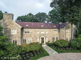 The fully fenced 54 acres property offers a luxurious 8,000 square feet of manor house.