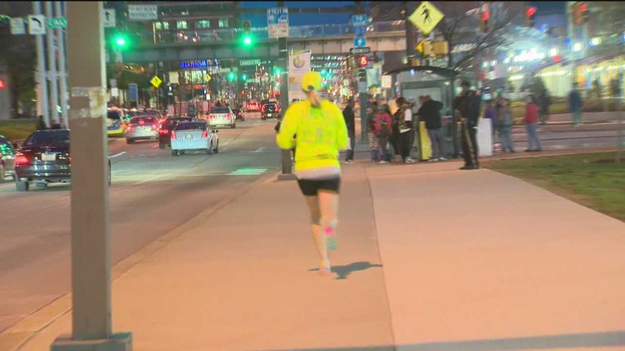 Twenty-six runners leave Tennessee and have since been running 24 hours a day, raising money and honoring the victims of the Boston Marathon bombing.