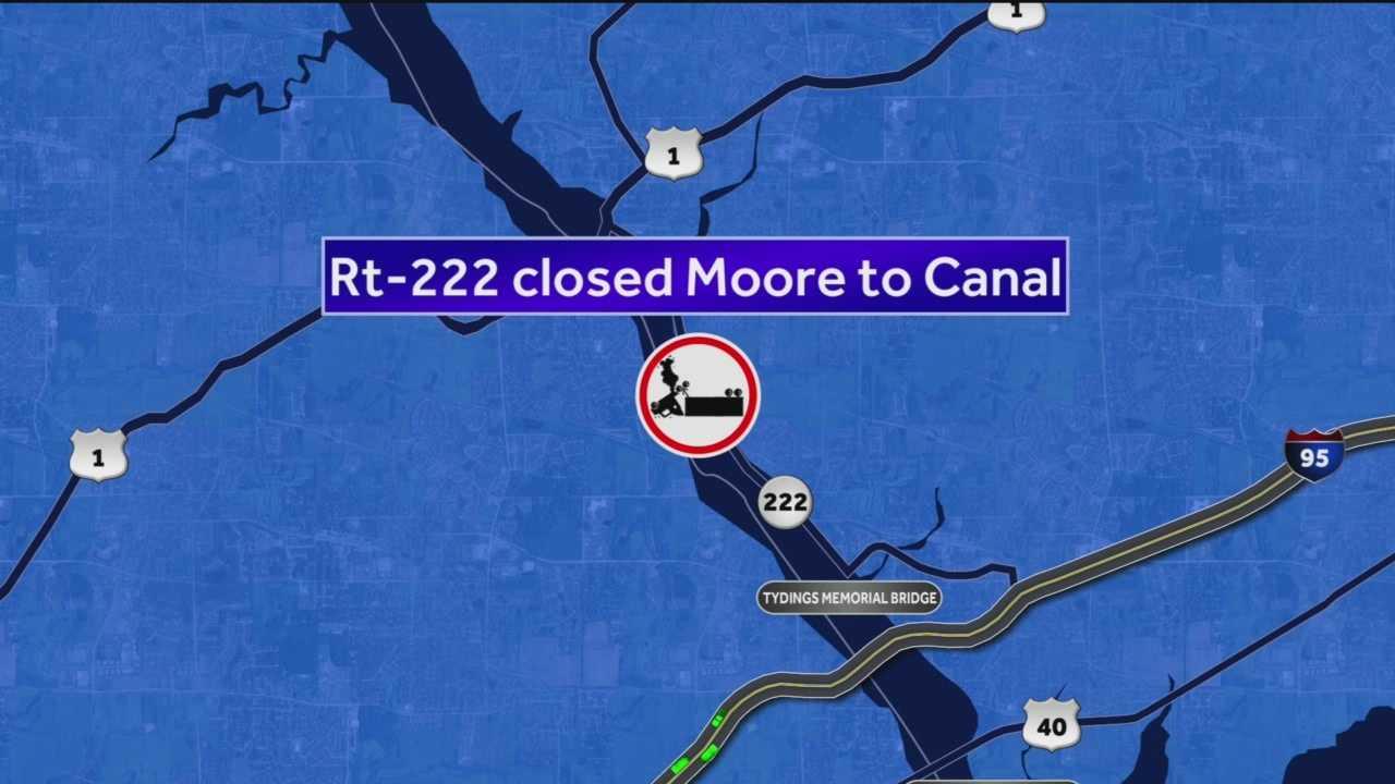 Route 222 fatal crash map
