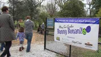 The Maryland Zoo in Baltimore kicks off its most egg-citing event of the year Friday: The Bunny BonanZoo!
