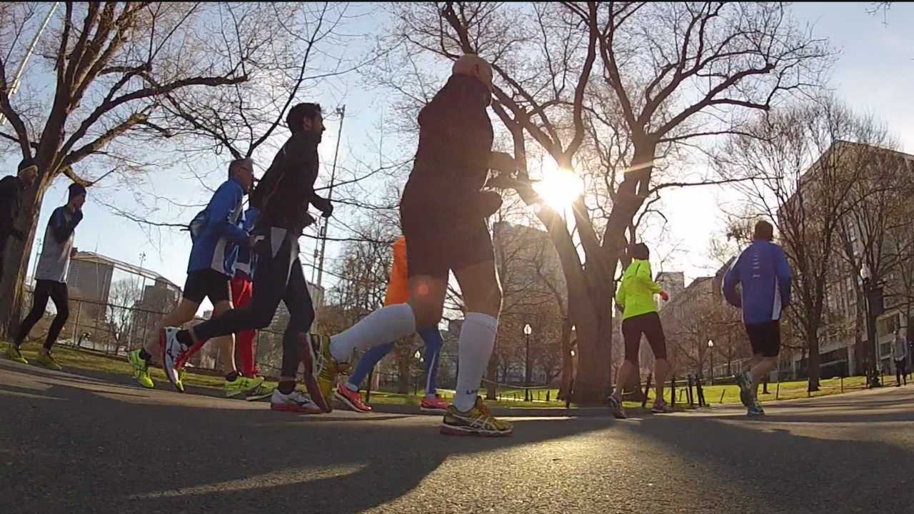 """WBAL-TV 11 News I-Team reporter Deborah Weiner is in Boston for the anniversary of the Boston Marathon bombing and caught up with runners from Baltimore who are feeling """"Boston Strong."""""""