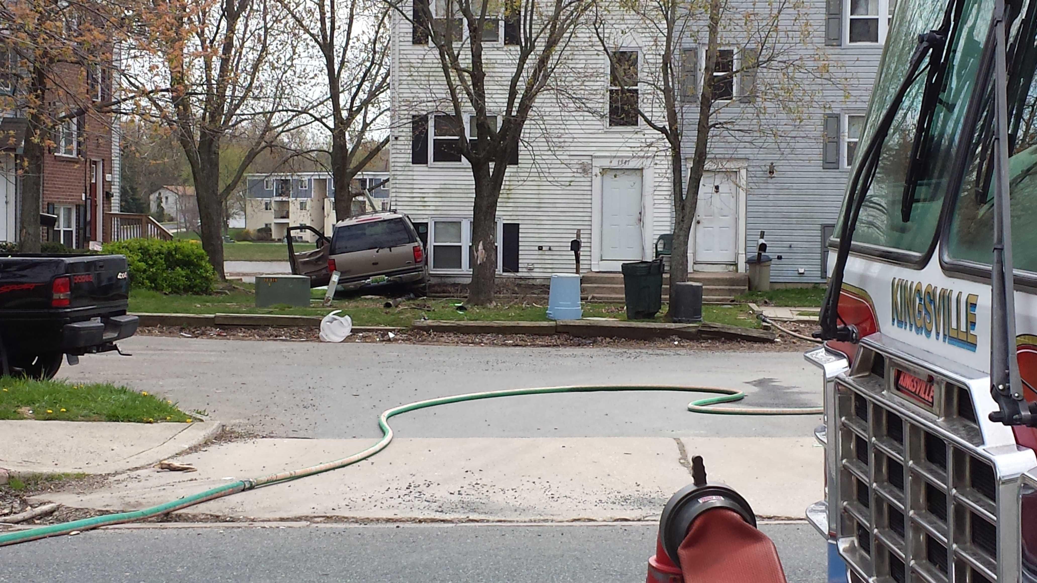 Brookside Drive crash