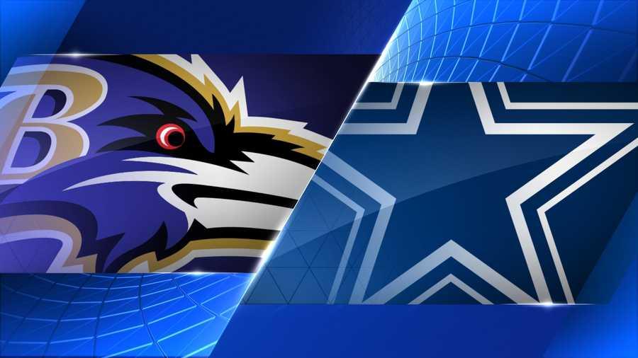 Preseason:Sat., Aug. 16 @ Dallas - 7:00 p.m. (WBAL-TV)