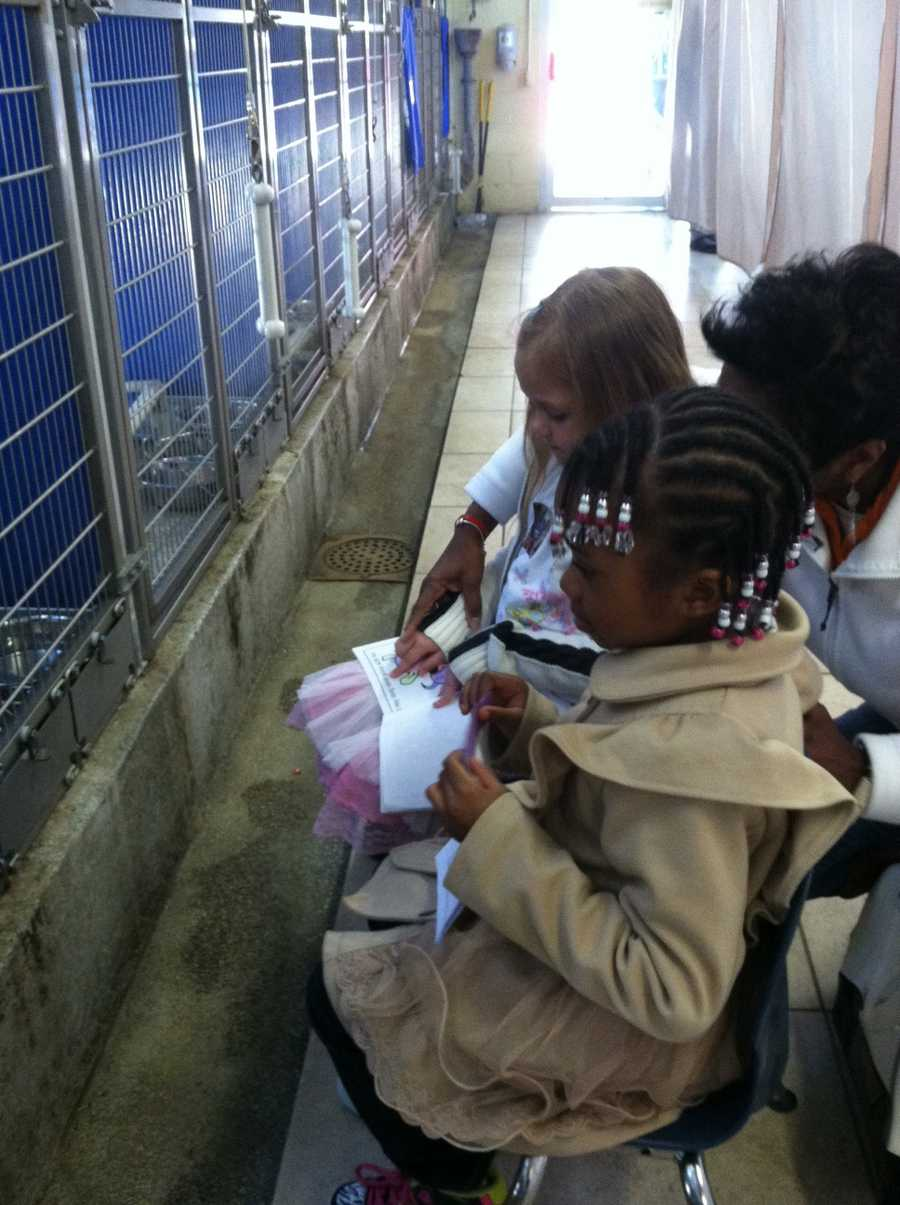 A group from the Sweet Potato Kids will go to the shelter once a month as part of the program.