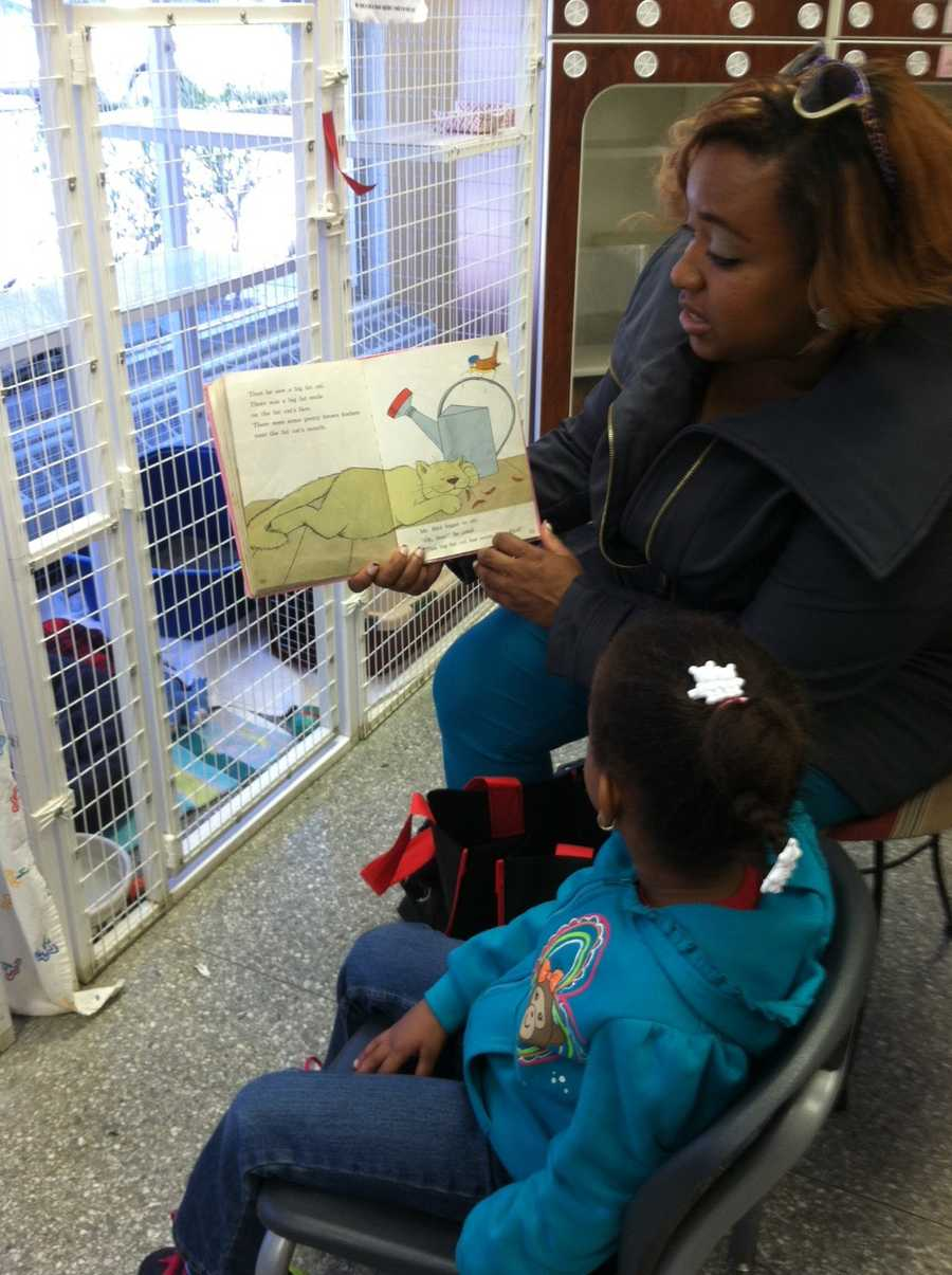 The Baltimore Humane Society hopes it will be able to increase the frequency of reading sessions or partner with an additional educational program on some of the other weeks.