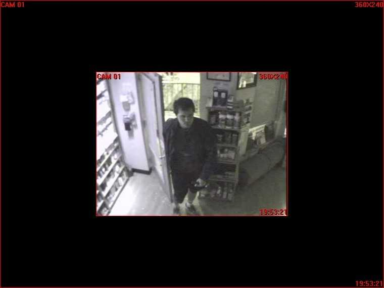 The Laurel Police Department has released photos of a suspect caught on camera during a burglary at a pharmacy.