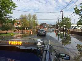 Road closures remain in effect in Annapolis on Thursday morning.