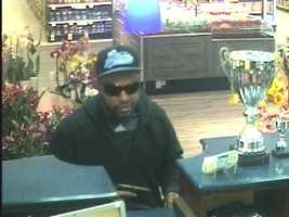 Surveillance photo from the SunTrust Bank, 10000 Baltimore National Pike, Columbia, May 1