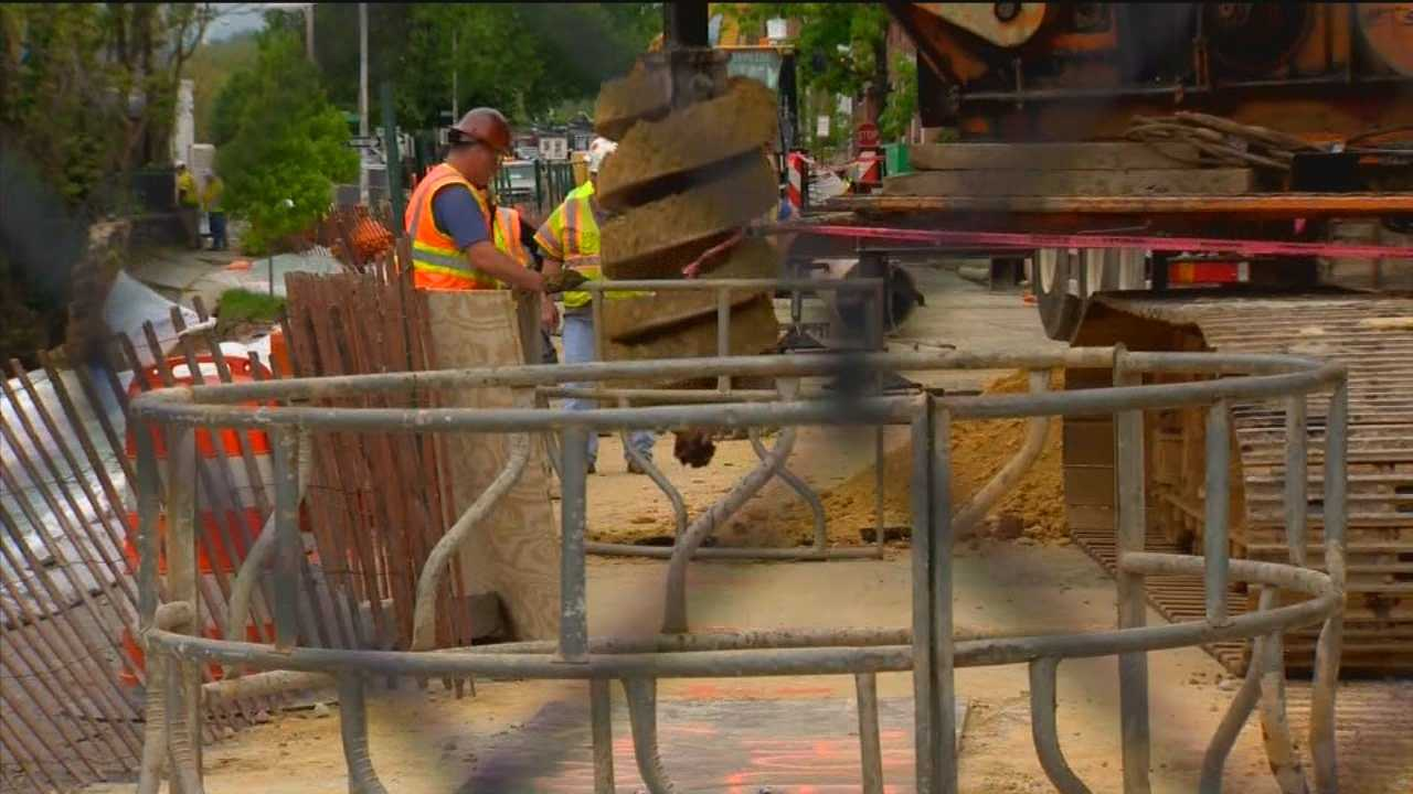 Evacuated residents of a Baltimore street collapse will have to continue to wait to return to their home after results from sonar testing were revealed Wednesday afternoon.