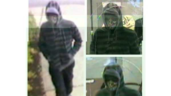 BB&T Bank robbery suspect