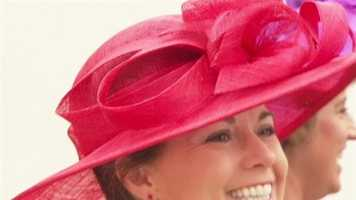 Wide brimmed hats, bright, bold dresses often requiring weeks of planning and a hefty budget.