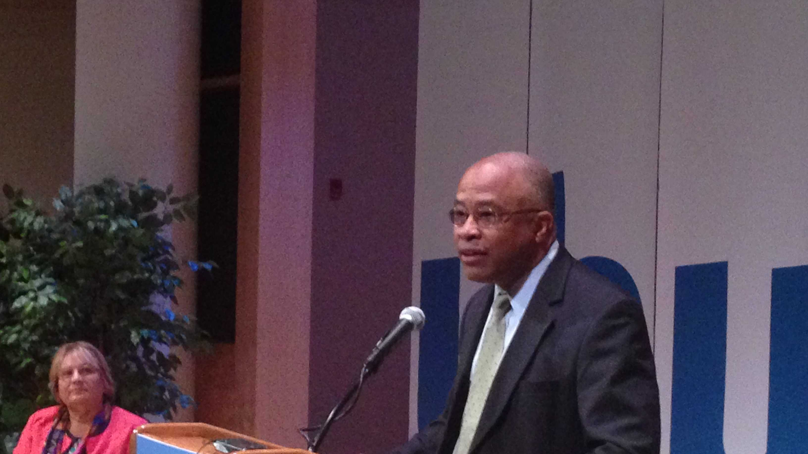 Former Baltimore Mayor Kurt Schmoke returns to the city to become the new president of the University of Baltimore.