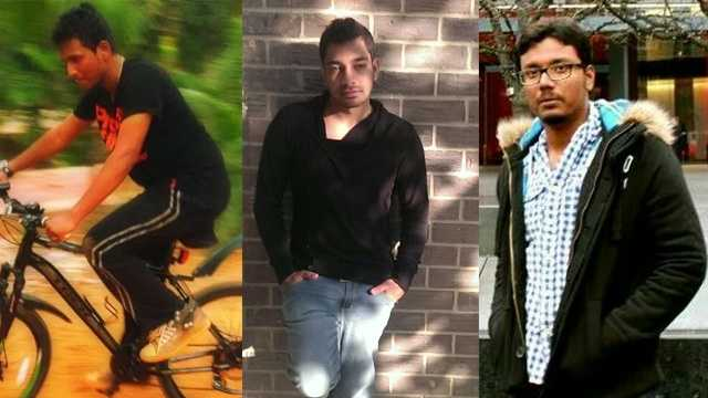 From left: Vignesh Ashokan, Sharath Sudershanam, Mallikarjun Moka