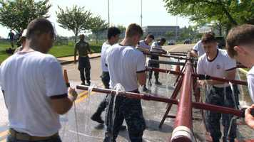 Tuesday's Sea Trials marks the capstone event for the freshman class at the U.S. Naval Academy.