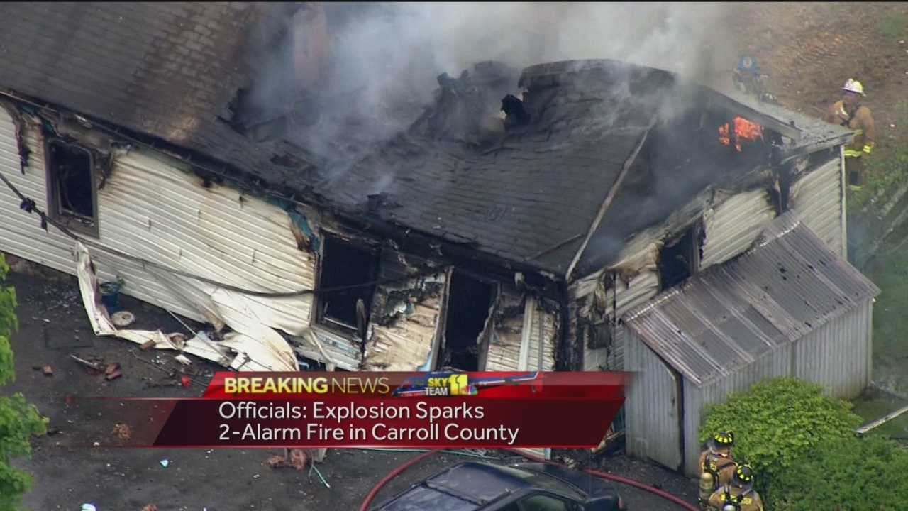 Carroll County explosion