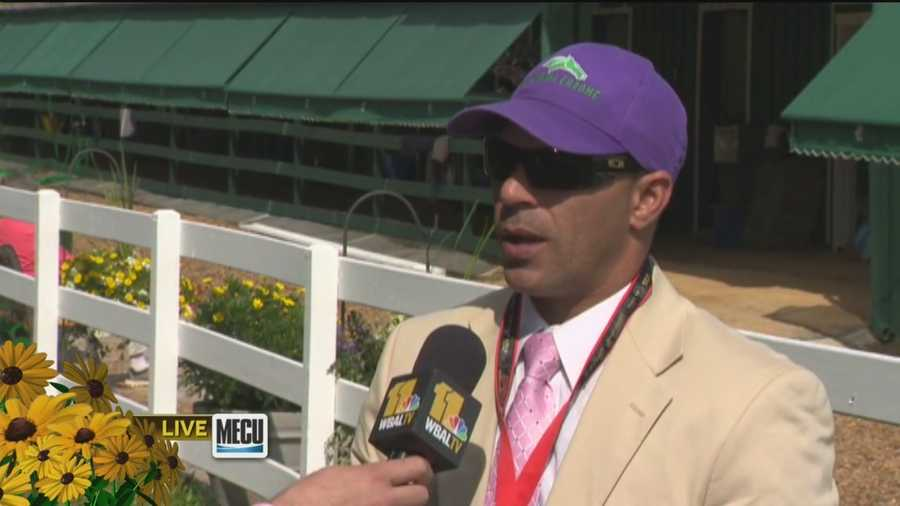 Exercise rider Willie Delgado shares how California Chrome has been performing and the prospects for the Preakness.