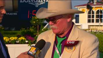 May 17: California Chrome owner Steve Coburn thanks Maryland for the hospitality and shares his emotional take on the Preakness Stakes and a run for the Triple Crown.
