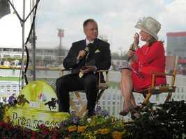 Gerry Sandusky and Donna Hamilton