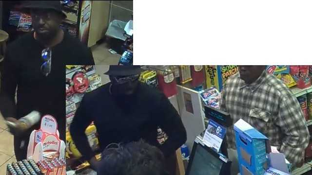 Howard County police are searching for these two men in connection with a Columbia gas station armed robbery.
