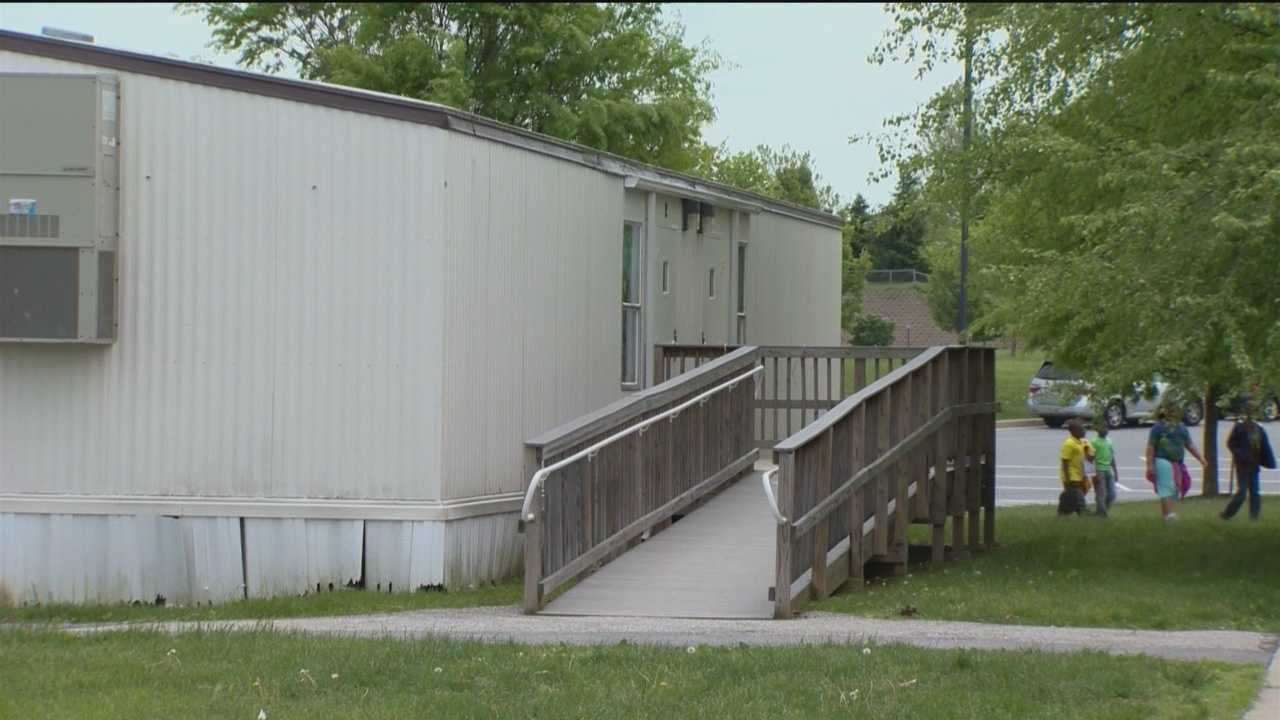 Baltimore County school officials say they need more portable classrooms due, in part, to the growing number of students attending county schools.