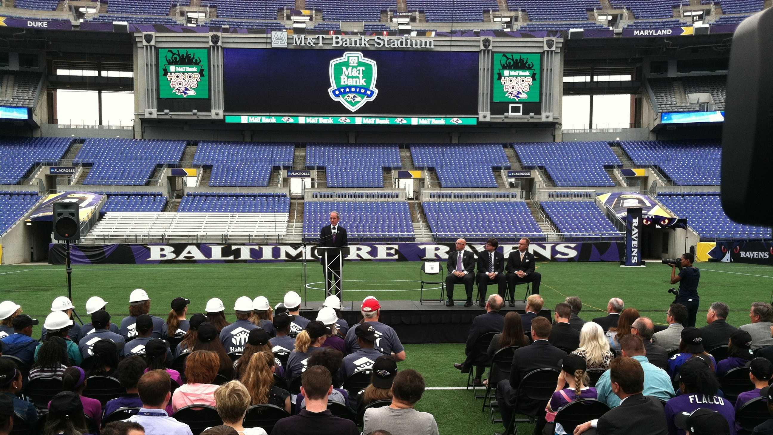 Ravens announce extended partnership with M&T Bank