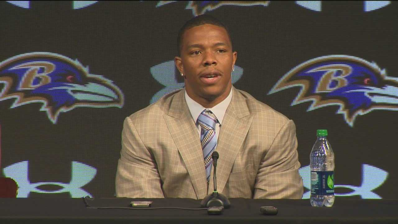 Ray Rice speaks out about the incident in New Jersey.